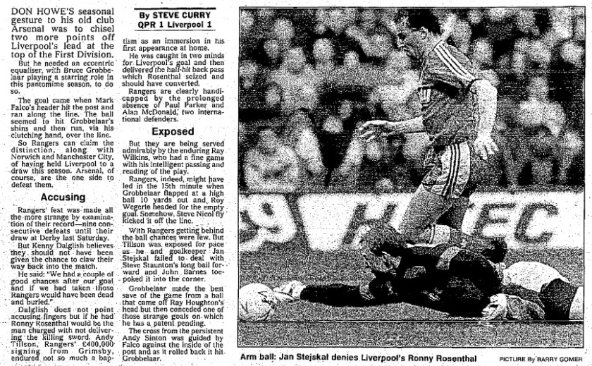 1990 QPR v LFC 1