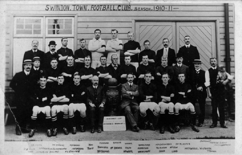 Swindon Town 1911