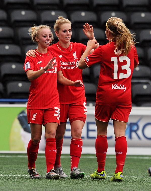 2015 LFC Ladies v Bristol Academy 1