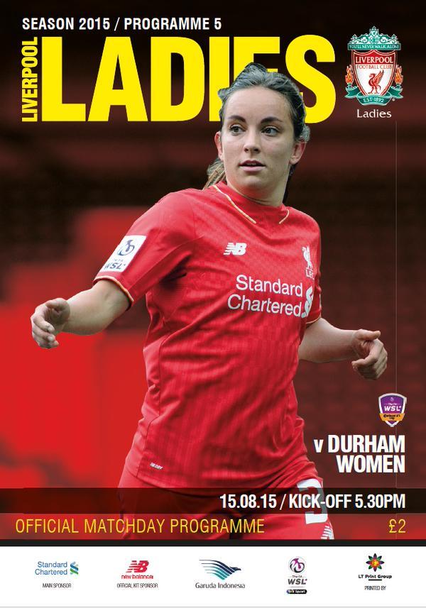 2015 LFC Ladies v Durham Women 1