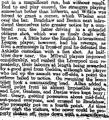 1896 LFC v Millwall 2