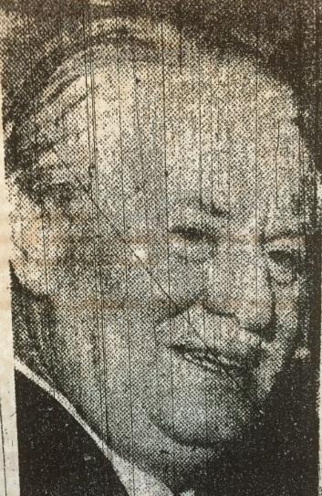 Alderman Arthur Collins director Liverpool 1968