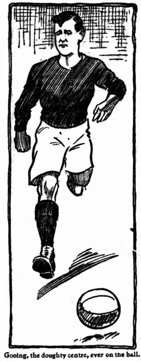 1904 Arsenal Bill Gooing