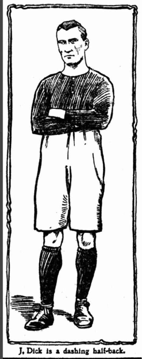 1904 Arsenal John Dick