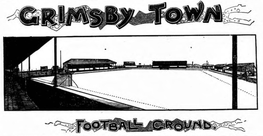 1906 Blundell Park Grimsby Town
