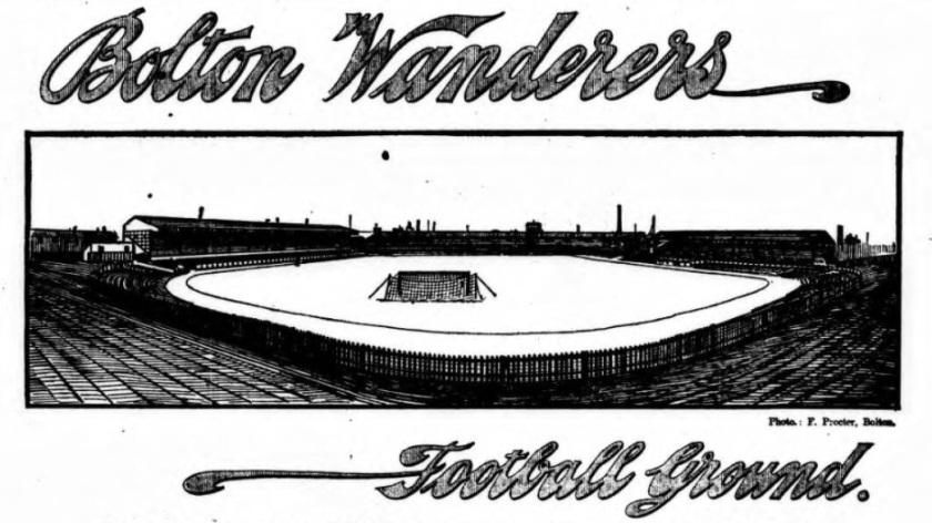 1906 Burnden Park Bolton Wanderers