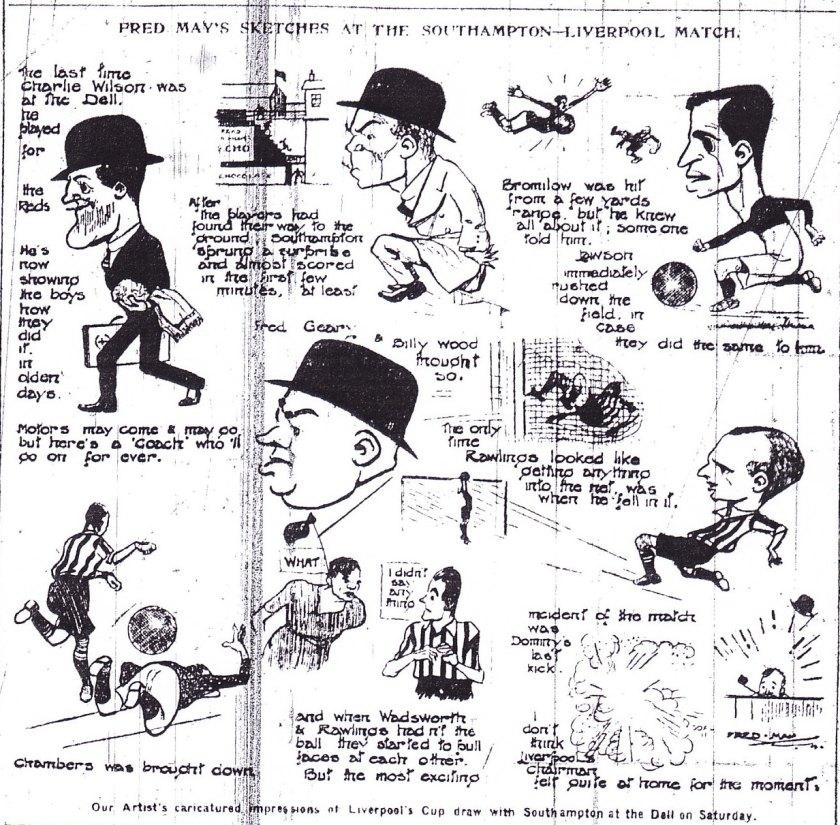 1924 Soton v LFC FA Cup 1