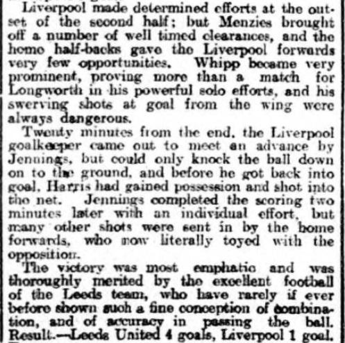 1925 LUFC v LFC 2