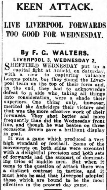 1929 LFC v Sheff Wed 1