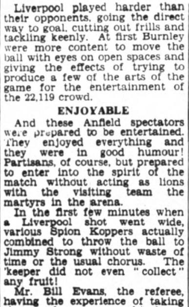 1953 Burnley friendly 2