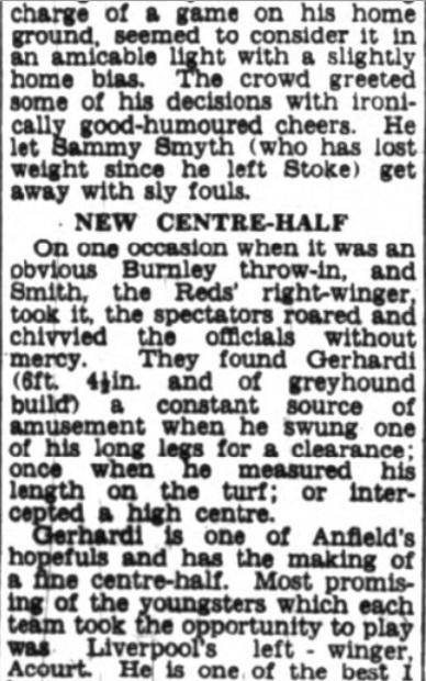 1953 Burnley friendly 3