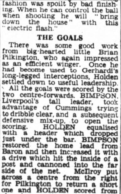 1953 Burnley friendly 6