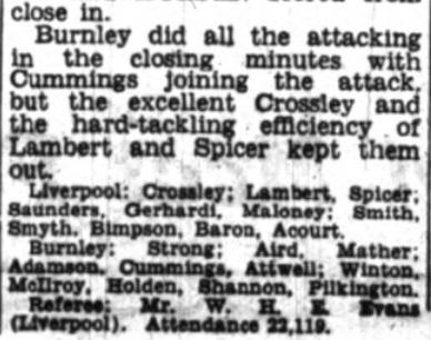 1953 Burnley friendly 7