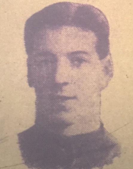 Donald Mackinlay Liverpool 1912