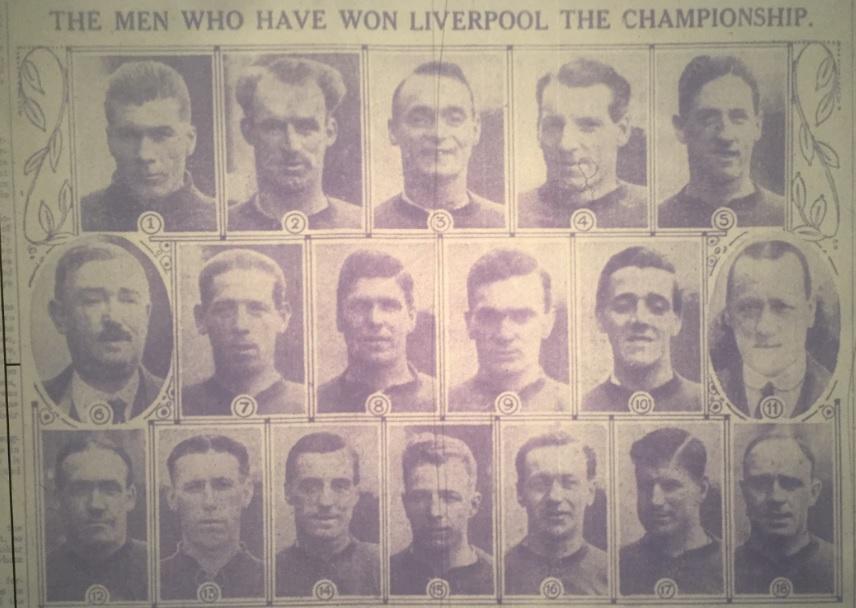 League champions 1922