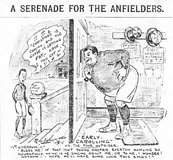 1905 Sketch A serenade for 16 december Echo