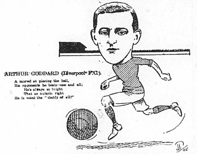 1905 Sketch Arthur Goddard 24 February echo