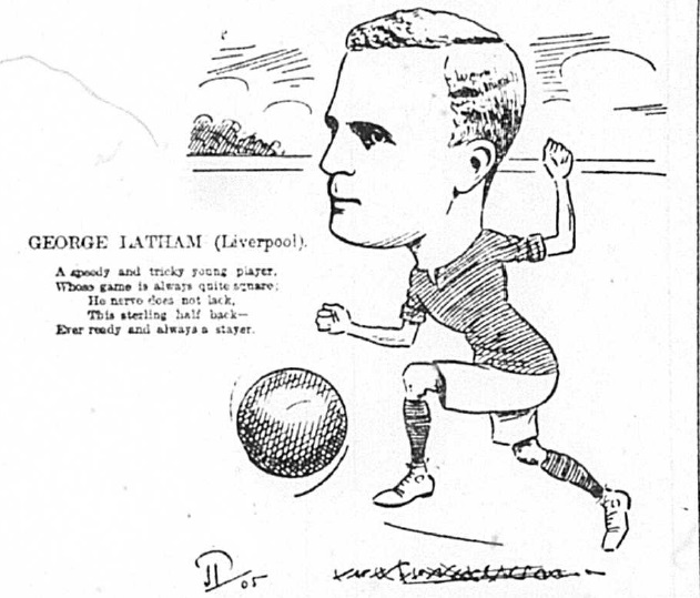 1905 Sketch George Latham 10 March echo
