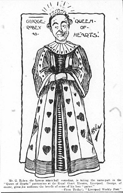 1905 Sketch George Robey 30 December Echo