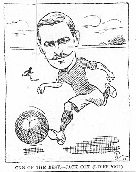 1905 Sketch Jack Cox 21 October Echo