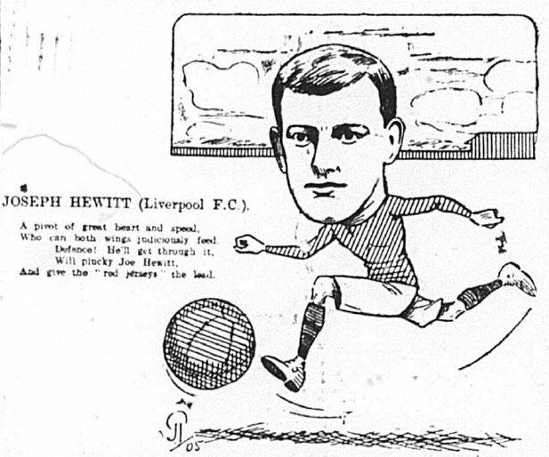 1905 Sketch Joe Hewitt 20 January Echo