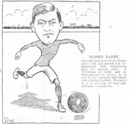 1905 Sketch Maurice Parry 4 November Echo