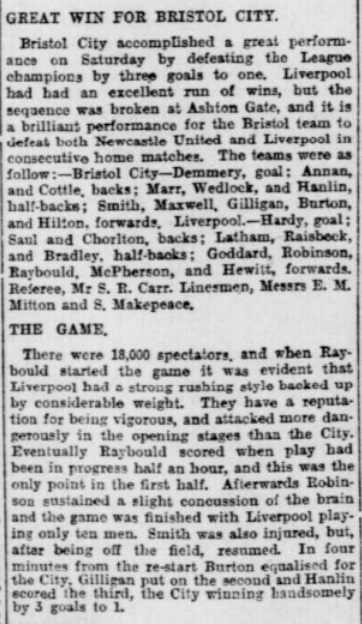 1906 Bristol City v LFC 1
