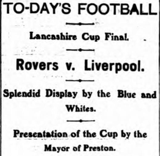 1906 Lancashire Cup Final 1