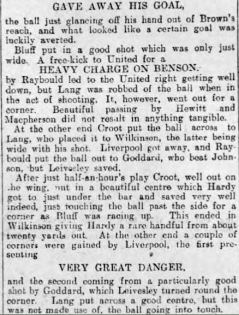 1906 Sheff Utd v LFC 3 Sheffield Evening Telegraph