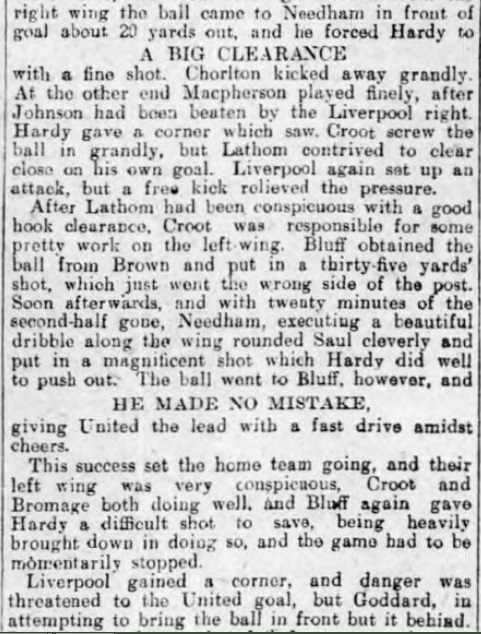 1906 Sheff Utd v LFC 5 Sheffield Evening Telegraph