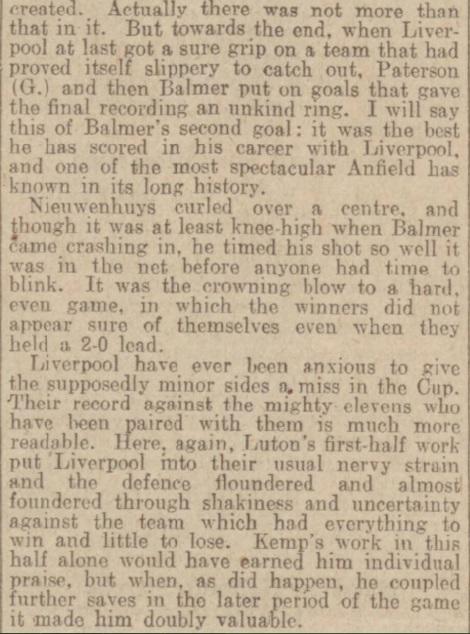 1939 LFC v Luton Town Daily Post 3