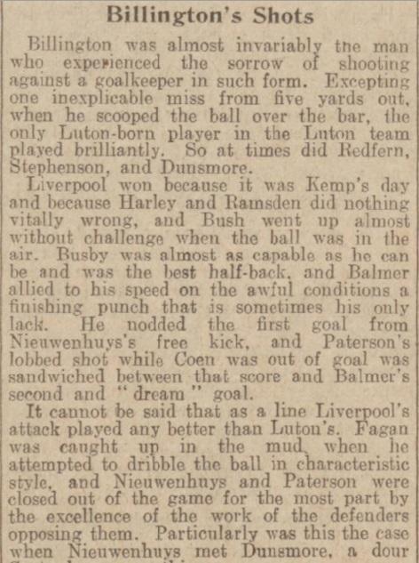 1939 LFC v Luton Town Daily Post 4
