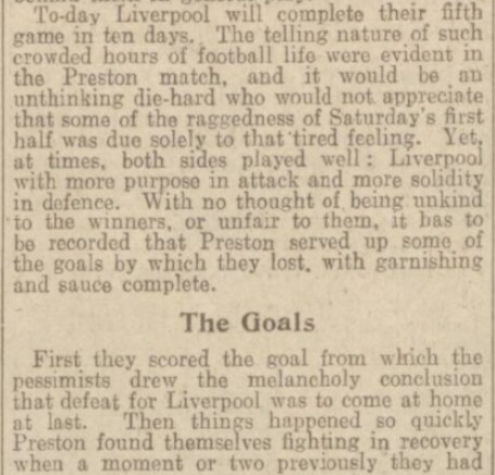 1939 LFC v PNE match report Daily Post 3