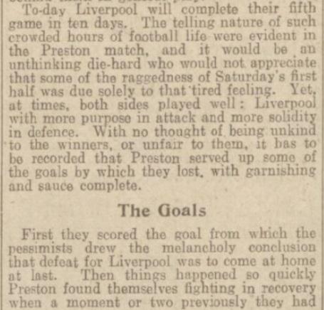 1939 LFC v PNE match report Daily Post 3