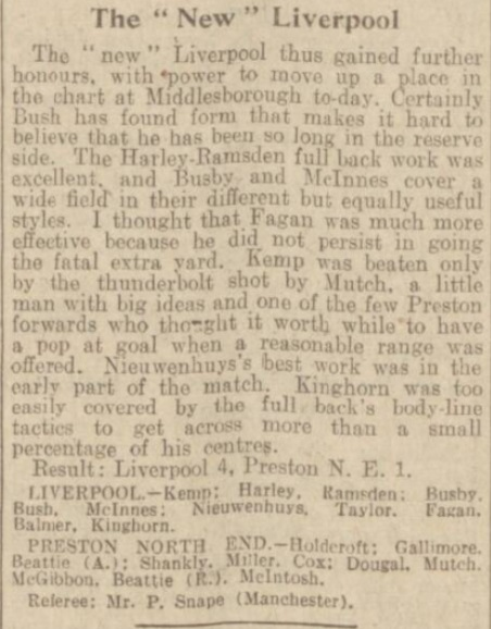 1939 LFC v PNE match report Daily Post 5