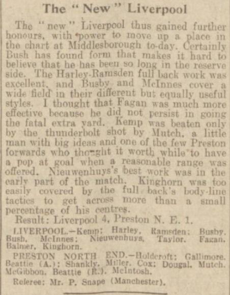 1939 LFC v PNE match report Daily Post 5
