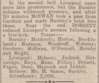 1942 Burnley v Liverpool match report 3