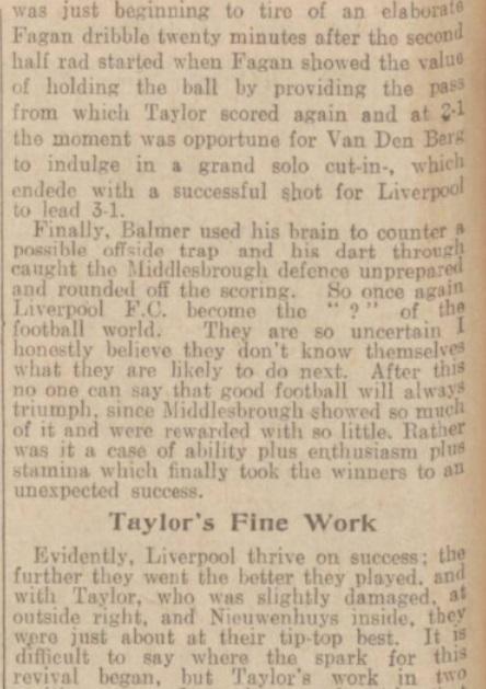 1939 LFC v Middlesbrough match report 5