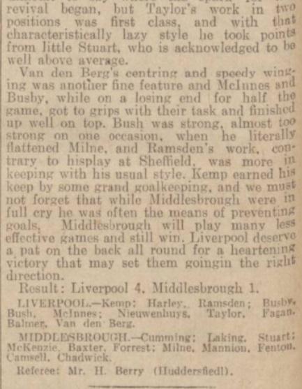 1939 LFC v Middlesbrough match report 6