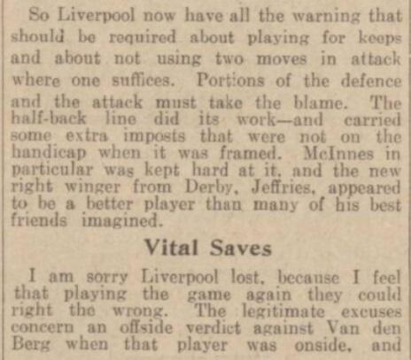 1939 SUFC v LFC match report 3