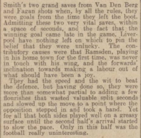 1939 SUFC v LFC match report 4