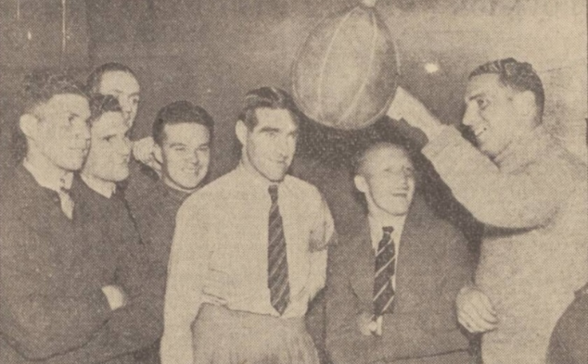 1939 Wrexham training
