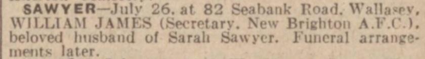 1940 WJ Sawyer II