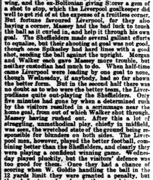 1898 SWFC v LFC Athletic News 2