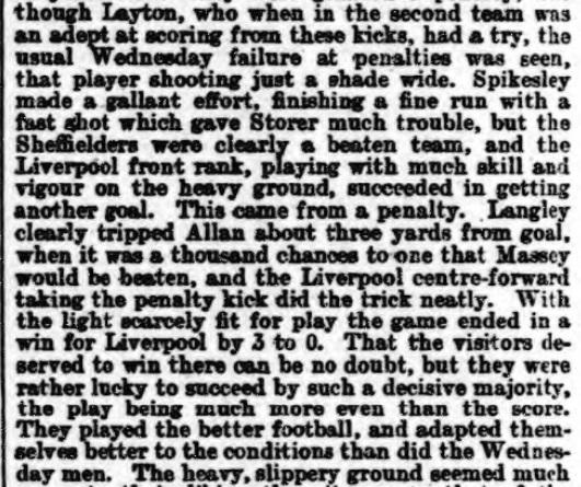1898 SWFC v LFC Athletic News 3
