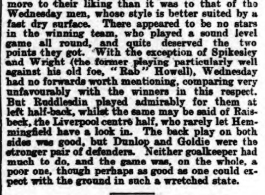 1898 SWFC v LFC Athletic News 4