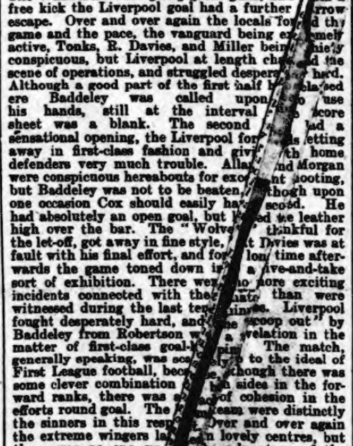 1899 Wolves v LFC Athletic News 2