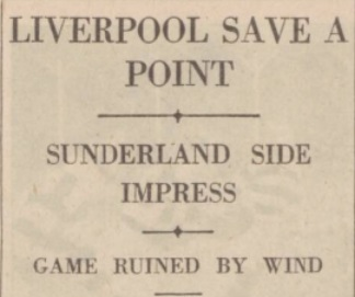 1939 LFC v Sunderland 1