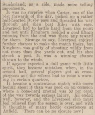 1939 LFC v Sunderland 3
