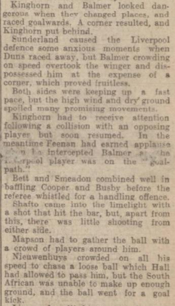 1939 LFC v Sunderland Evening Express 3